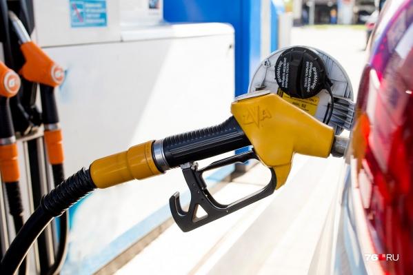 Цена на топливо начала резко расти вверх