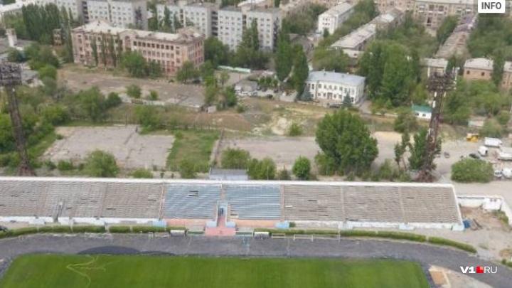 Волгоградцам предлагают отдать стадиону «Трактор» две спортивные площадки