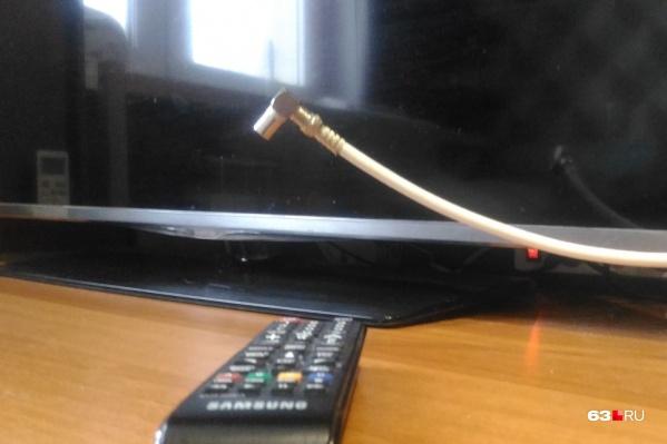 Сигнал будут принимать только современные телевизоры