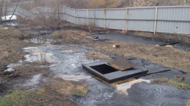 В Башкирии из-за халатности рабочих произошла утечка вредоносных отходов