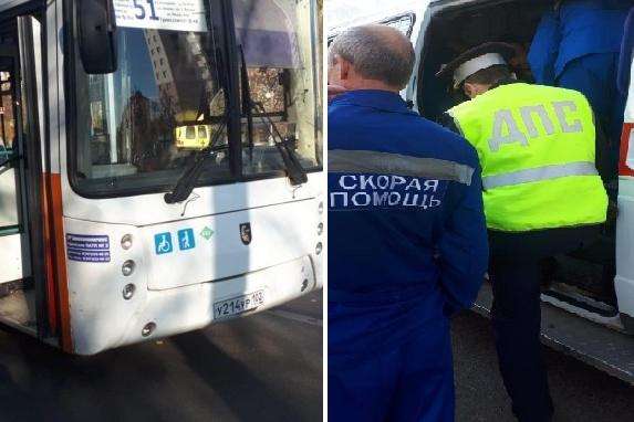 Переполох в автобусе начался из-за хлопка