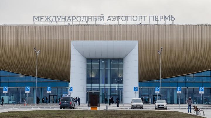 Телетрапы в пермском аэропорту планируют запустить в августе 2020 года