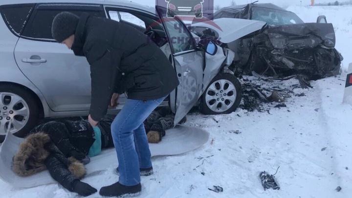 «Спешили на праздник»: на трассе в Красноярском крае произошло смертельное ДТП