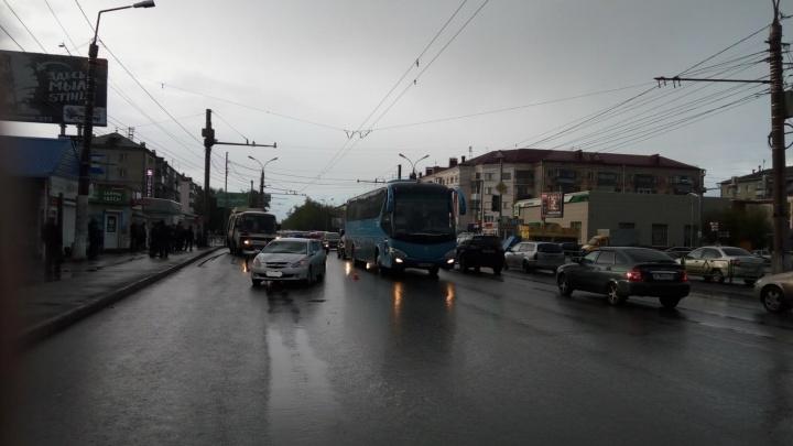 Госавтоинспекция Кургана ищет очевидцев ДТП, в котором пострадали два подростка