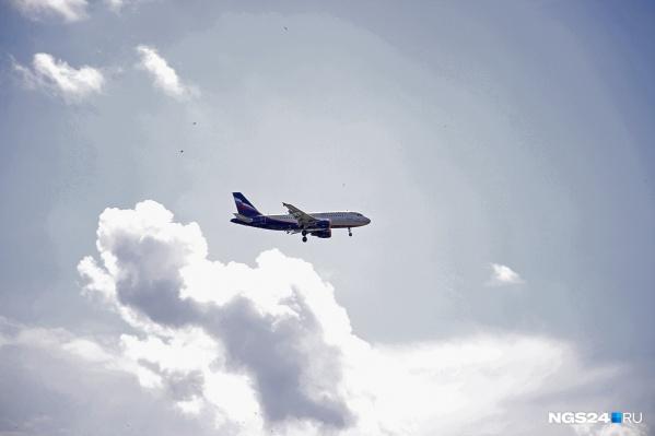 Пассажиров отправили в Красноярск ночным рейсом