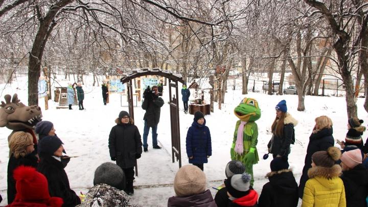 В пермской школе №132 появился «Экоград»
