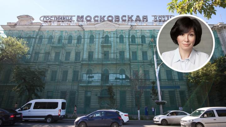 «Это фейк»: хозяйка гостиницы «Московская» прокомментировала новость о суде с властями Ростова