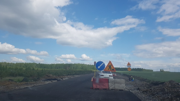 Трассу Курган — Челябинск отремонтируют «умные машины»