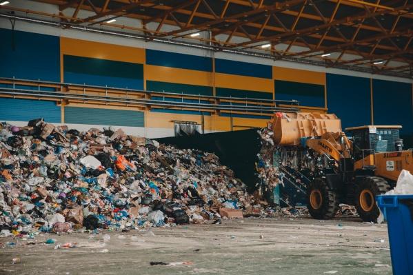 Тело обнаружили во время ручной сортировки мусора