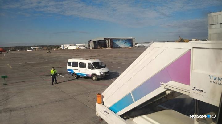 Самолет «Аэрофлота» развернули после вылета из Красноярска: сработали датчики открытия дверей