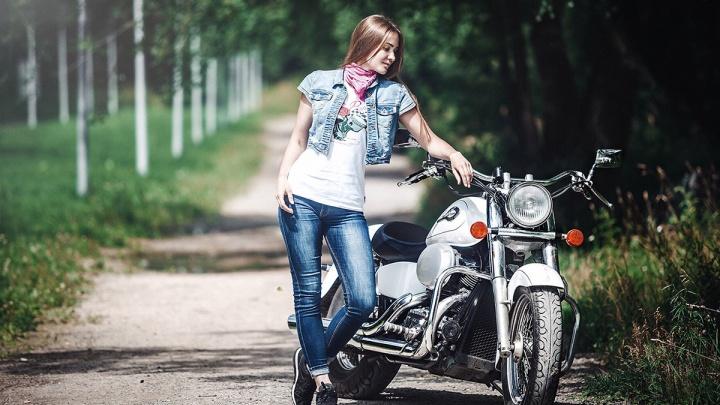 Новосибирские байкеры выбрали девушку для бесплатной поездки в Европу