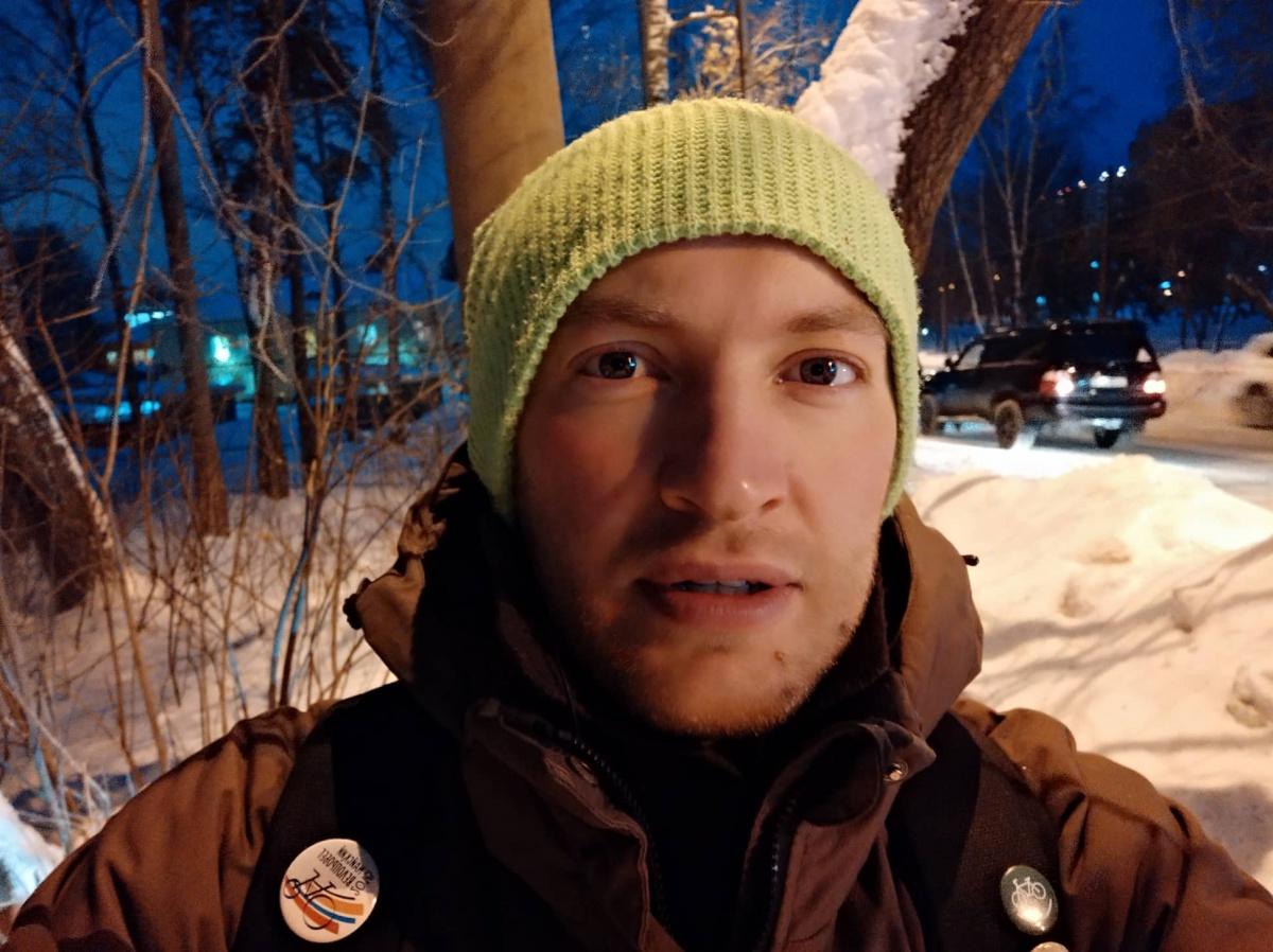 Алексей Куницин прошёл 7,3 километра за 70 минут