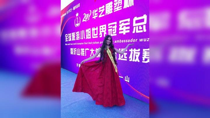 Красавицу из Уфы наградили за укрепление дружбы между Башкирией и Китаем