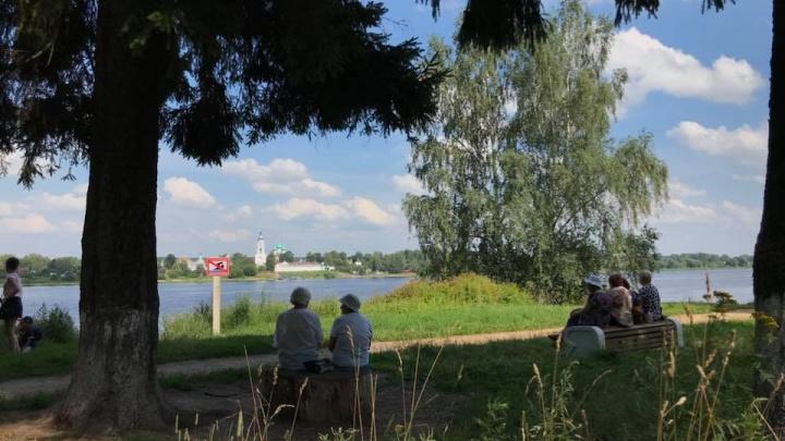 В Брагино появились дизайнерские лавки с логотипом, который придумал Артемий Лебедев