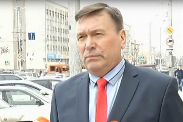 Игорь Иванов — директор управления по строительству метрополитена