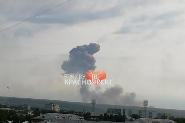 Взрывы были слышны на несколько десятков километров