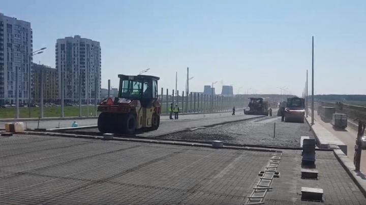 Прямой ход по развязке ТКАД — Монтажников обещают открыть к осени