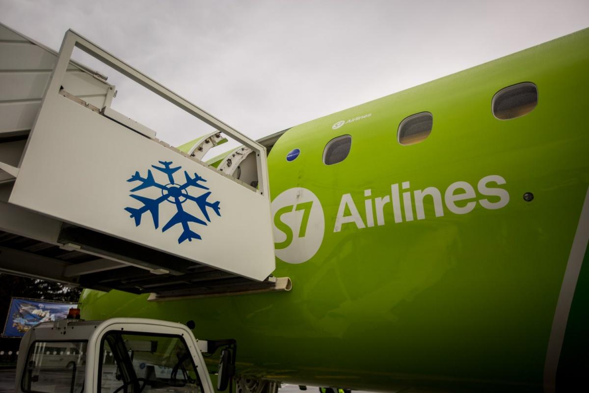 Самолёт вылетел из Новосибирска в Нижневартовск, но вскоре вернулся обратно