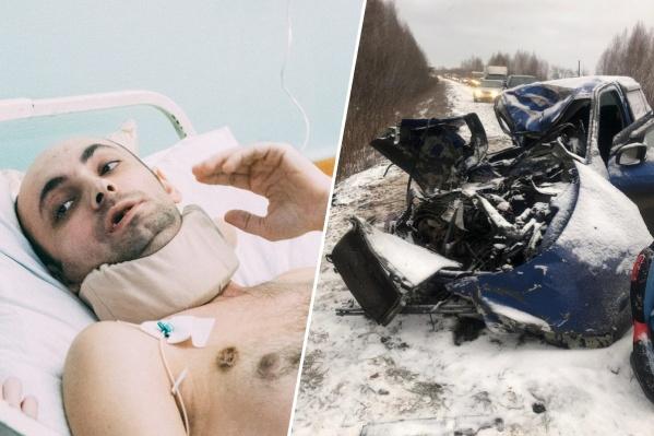 Мужчина едва не погиб этой осенью, однако врачам БСМП-1 удалось сохранить ему жизнь