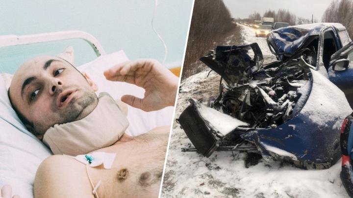 «Папа не умирает»: врачи «собрали по кусочкам» омича, получившего несовместимые с жизнью травмы