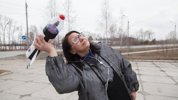 Фоторепортаж: новосибирцы запустили ракеты в небо над Шлюзом