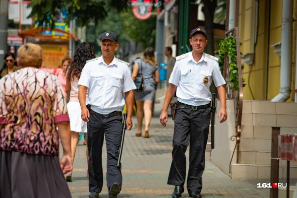 Полицейские оперативно задержали воришку