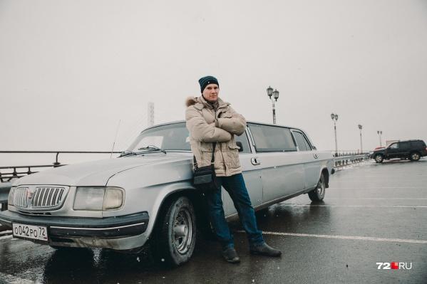 Необычная «Волга» досталась Евгению Левченко по обмену