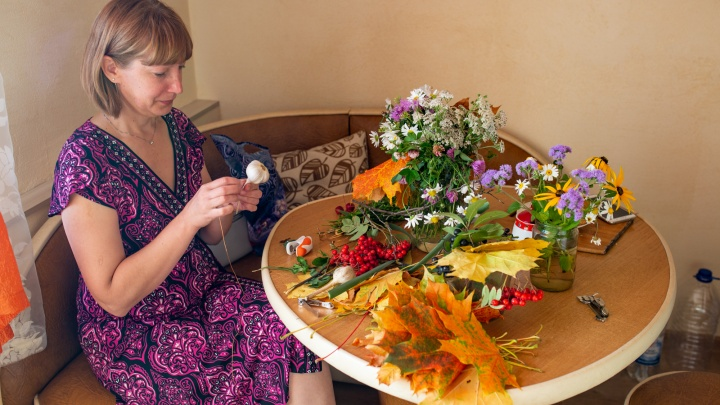 Получится лучше, чем у флористов: пять осенних букетов из того, что растёт у нас под ногами