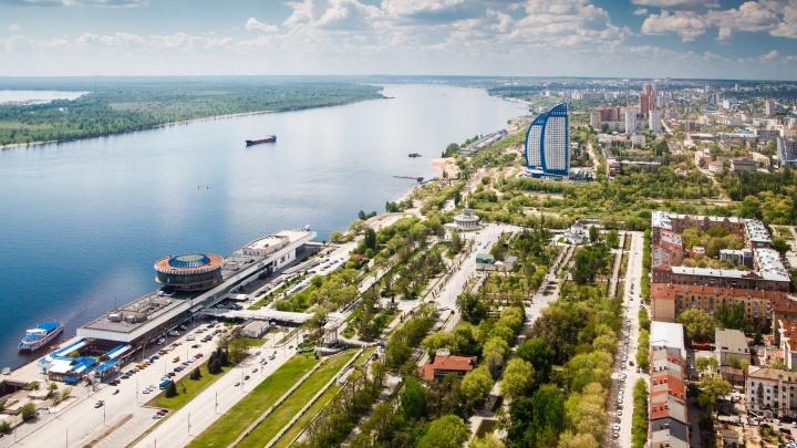 Под конец майских праздников в Волгоград вернулись тепло и солнце