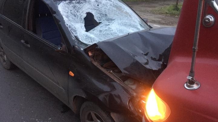 Дальнобойщик задержал омича, насмерть сбившего двоих пешеходов на обочине