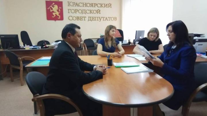 Акбулатов официально стал кандидатом в мэры Красноярска