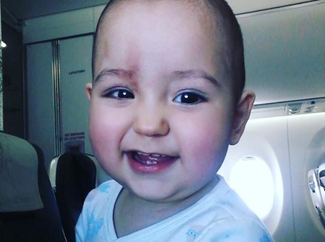 Евгений Куйвашев попросил помощи для годовалого малыша с опухолью глаза