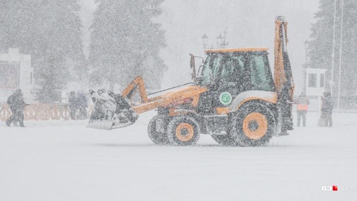 Снега будет много: в Самарской области ожидают метель