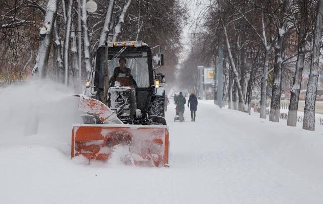 Какие уфимские дворы останутся без снега 30 марта