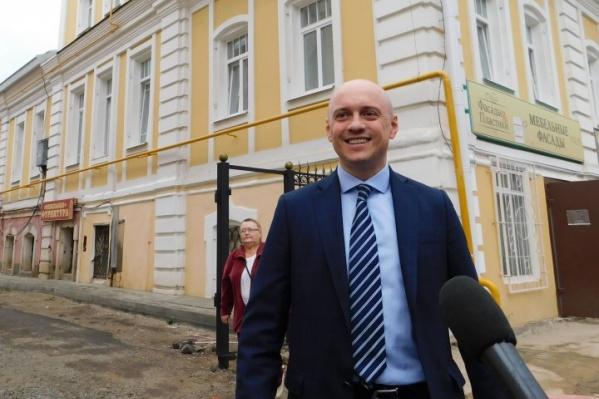 Роман Васильев работал заместителем директора департамента охраны памятников