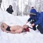 Вдохнул снег, когда лежал в сугробе: тюменский экстремал рассказал об ошибке на шоу в Екатеринбурге