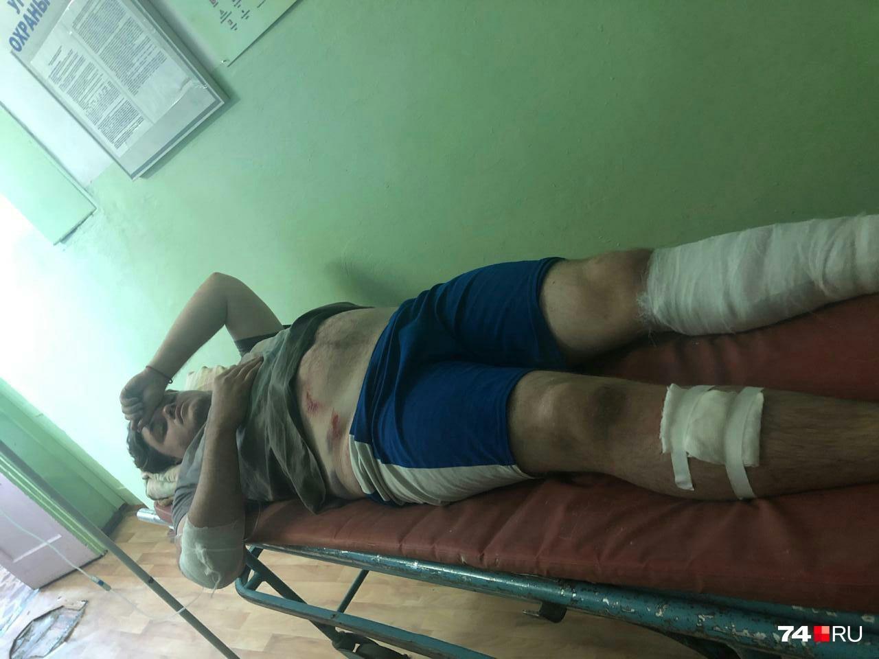 Владислава доставили в больницу Аргаяша