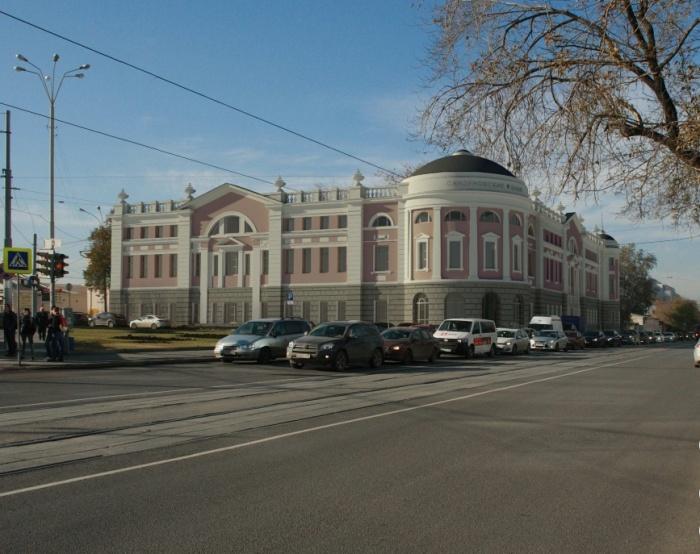 Эскиз новых «Сандунов» от архитекторов «УралНИИпроекта»