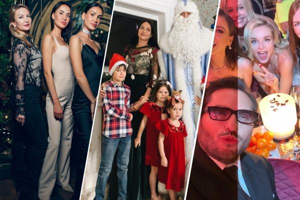 Многие знаменитости решили провести новогодние каникулы со своими детьми