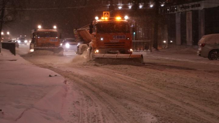 В Перми из-за сильного снегопада отменили штрафы за нарушение платной парковки