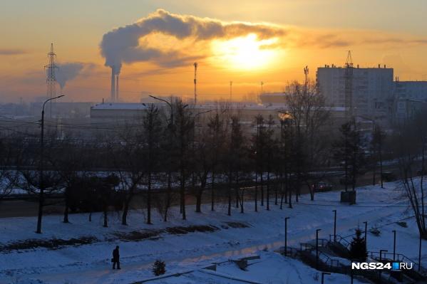 Каждый год красноярцы живут в режиме НМУ 55–60 дней.