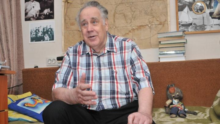 Писателя Крапивина, создавшего отряд «Каравелла», наградили за заслуги перед Свердловской областью