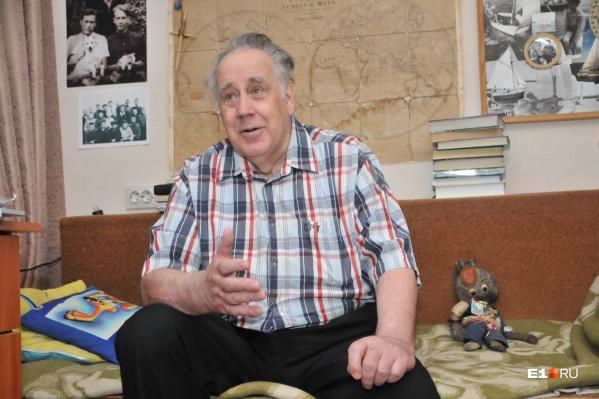 Владислав Петрович вернулся в Екатеринбург в 2014 году