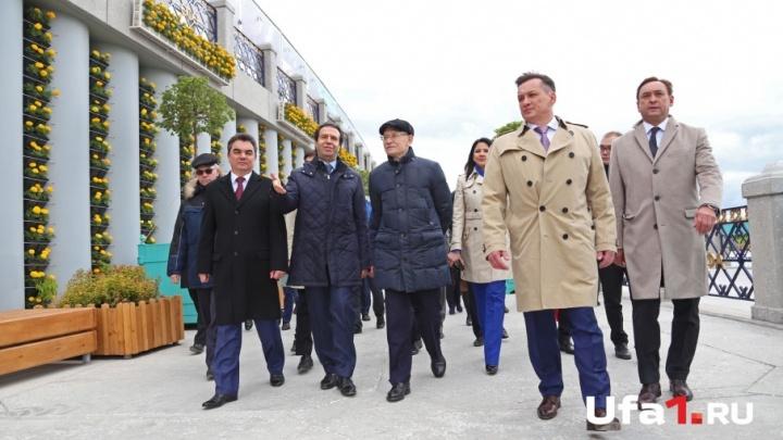 За 2,6 миллиарда рублей: в Уфе открыли вторую четверть набережной
