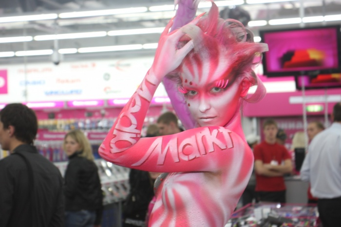 MediaMarkt предстанет перед покупателями в формате супермаркета. Фото Стаса Соколова