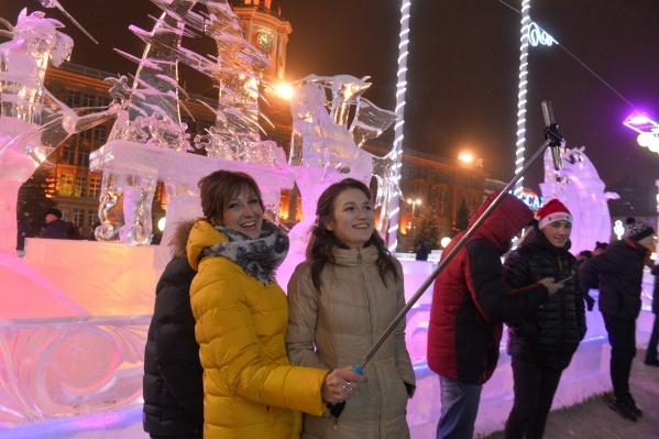 Ледовый городок будет работать с 28 декабря по 27 января
