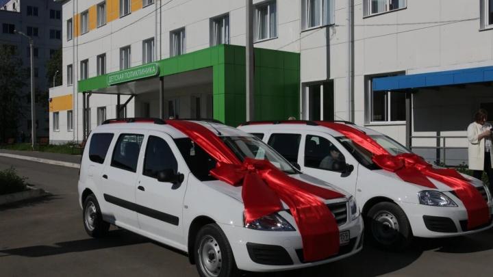 «Уралкалий» передал спецавтомобили городской детской больнице Соликамска
