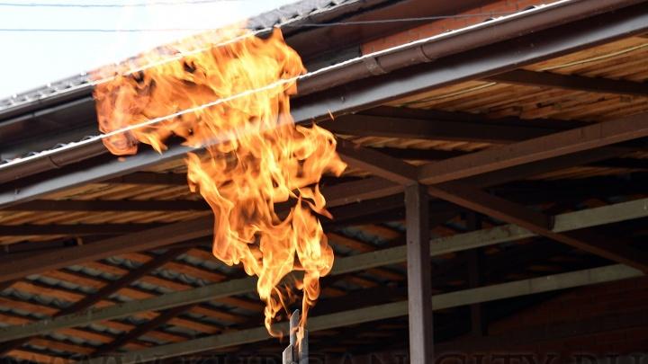В Кургане микрорайон Торфяники подключили к природному газу