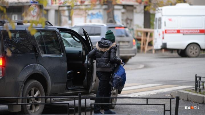 С начала года в Екатеринбурге увеличилось количество ДТП с участием детей