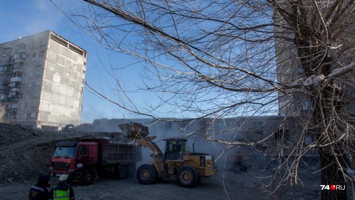 Дом в Магнитогорске с обрушившимся от взрыва подъездом признали пригодным для проживания
